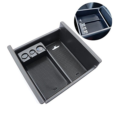 Autou Car Center Console Organizer for Toyota 4Runner 2010-2018, Armrest Insert Storage Tray