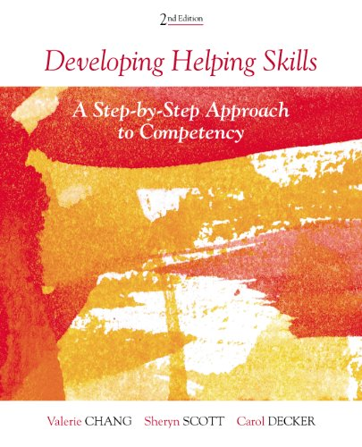 Download Developing Helping Skills: A Step by Step Approach to Competency (HSE 123 Interviewing Techniques) Pdf