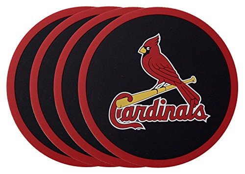 Price comparison product image MLB St. Louis Cardinals Coasters (4 Pack)