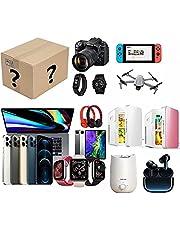 Mystery Box Elektronisk,Mysteriebox Överraskningslåda,Har Möjlighet Att Öppna Som VR, Datorvärd, Drönare, Smartklocka, Gamepad, Digital Datorkamera, Etc.