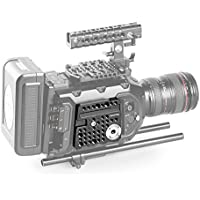 SmallRig Rosette Side Plate for BlackMagic URSA Mini Camera with a Cold Shoe Built-in and ARRI Rosette - 1854