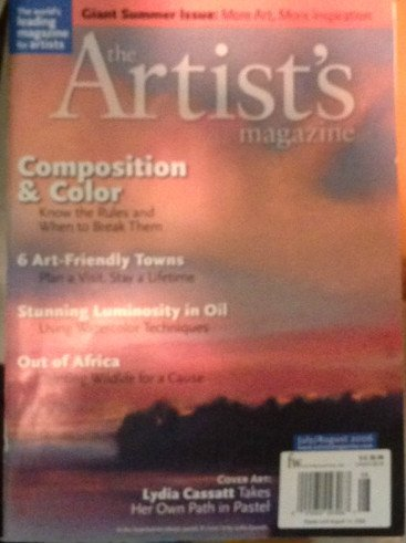 The Artist's Magazine - Composition & Color - Painting Wildlife - Stunning Luminosity in Oil - Art Friendly Towns (July/August, 2006)