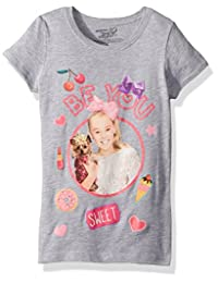 Nickelodeon Girls Little Girls JoJo Siwa Be You Short Sleeve T-Shirt