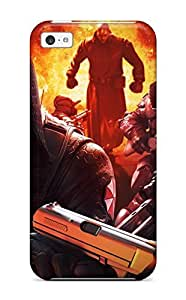 New Premium Flip Case Cover Operation Raccoon City Skin Case For Iphone 5c