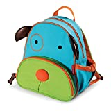 Image of Skip Hop Zoo Toddler Kids Insulated Backpack Darby Dog Boy, 12-inches, Multicolored