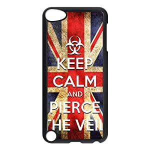 Pierce The Veil Ipod touch 5th Back Cover, Protective Plastic Cover For Ipod touch 5