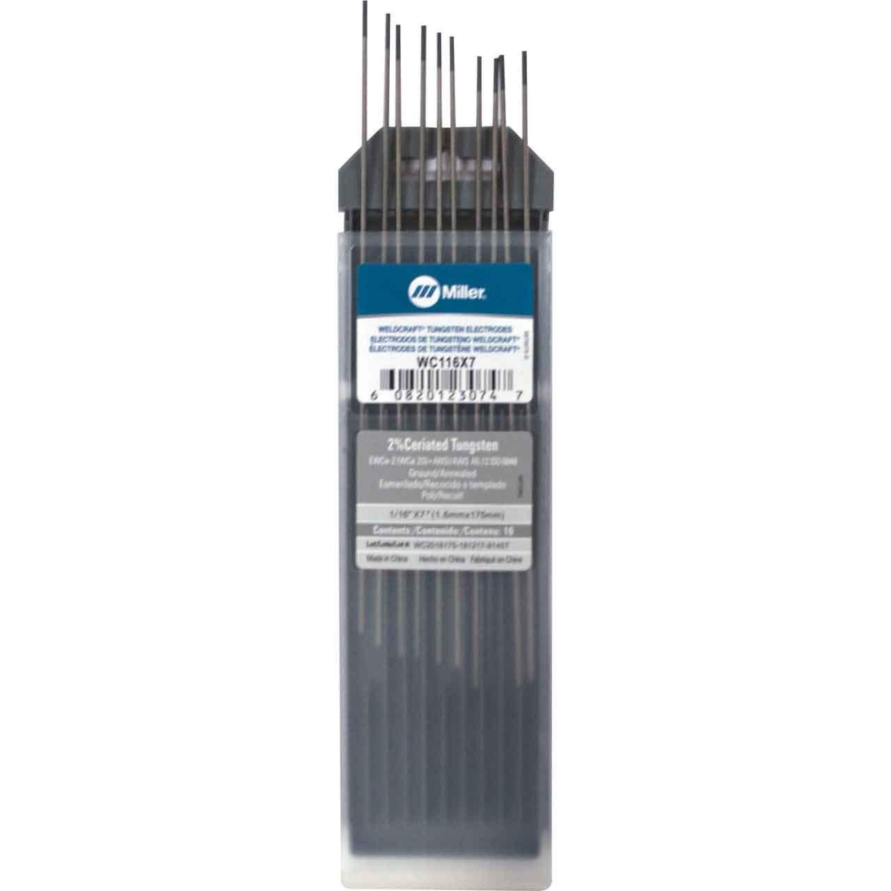 Tungsten Electrode PK10 1//16 in
