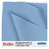 WypAll 35411 X60 Cloths, Small Roll, 9 4/5 x 13