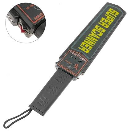 PrimeMatik - Detector de Metales para Vigilantes de Seguridad con Doble Nivel de sensibilidad