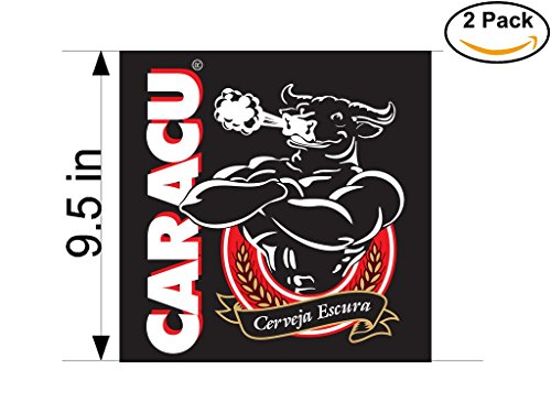 caracu-beer-logo-alcohol-4-vinyl-stickers-decal-bumper-window-bar-wall-95-inches