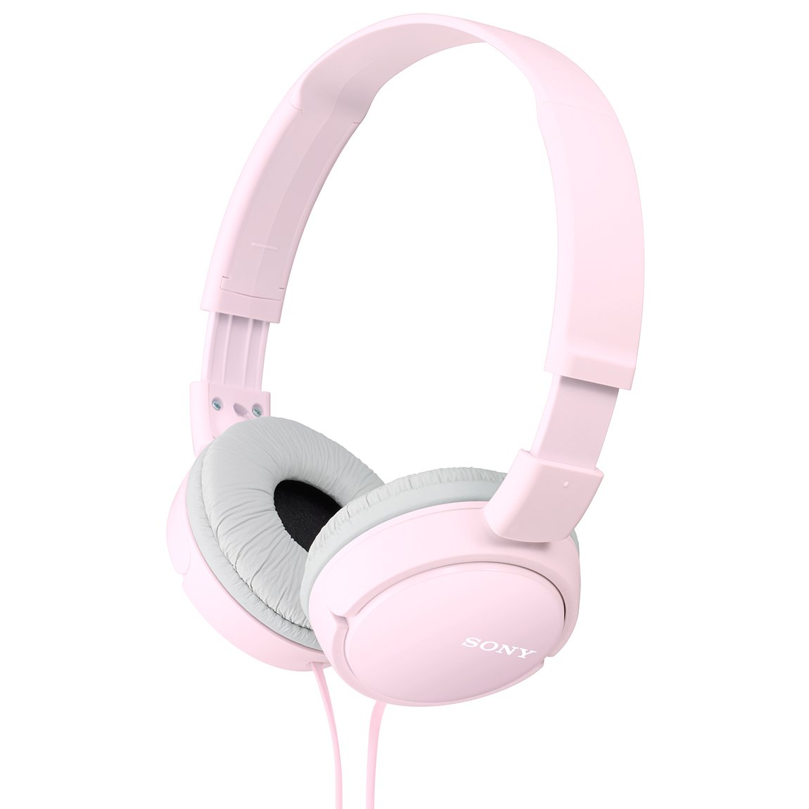 Sony Dynamic Foldable Headphones MDR-ZX110-P (Pink) by Sony