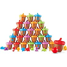Learning Resources Alphabet Acorns Activity Set, 78 Pieces, Visual & Tactile Learning Toy, Ages 3+