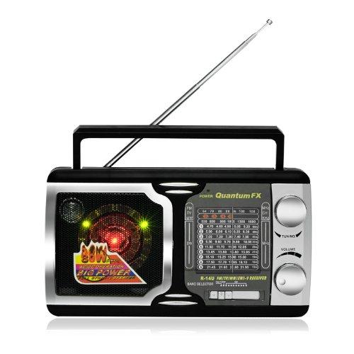 Quantum FX AM FM TV2-5 SW 1-SW 9 Radio 12 Band Radio - Qu...