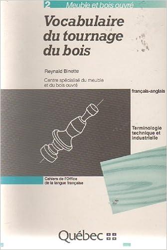 Vocabulaire Du Tournage Du Bois Francais Anglais Meuble Et Bois