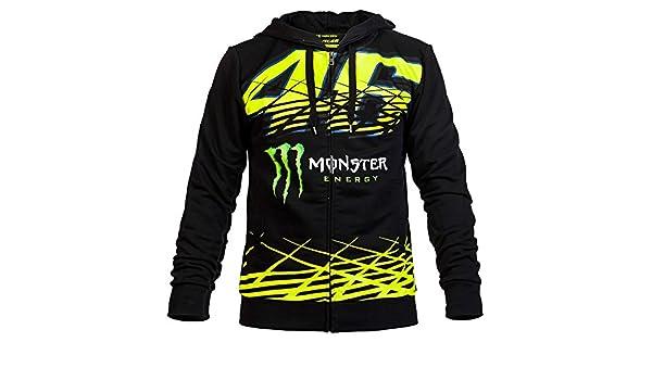 Valentino Rossi VR46 Hoodie Sweatshirt - Jersey con capucha para hombre Otoño y Winter BNN 8T 20 L : Amazon.es: Ropa y accesorios