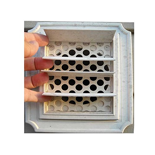 2/pkg-Dryer Vent Bird Guards - Bird Stop inserts - Bird Guard - Dryer Vent Grill - Pest Guard - Stop Birds From Nesting in Dryer Vent Pipes and Bathroom Vent - How Block Wind To