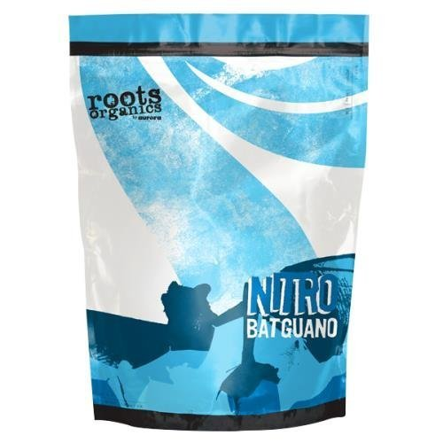 Roots Organics Nitro Bat Guano Fertilizer, 3-Pound