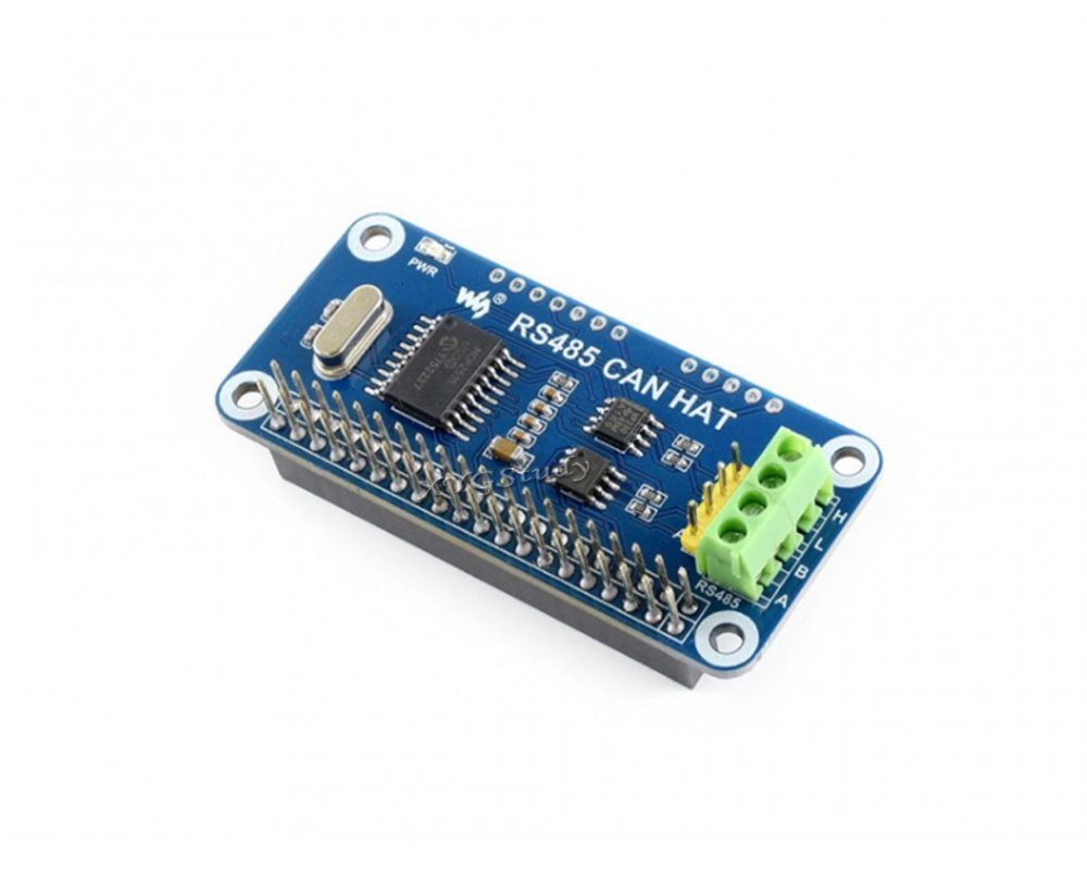 Rs485 Can Hat Stably Long Distance Communication Functions Uart Wiringpi Python Interrupts Controlled Spi Interface For Raspberry Pi Zero W Wh 2 3 Model B Xygstudy