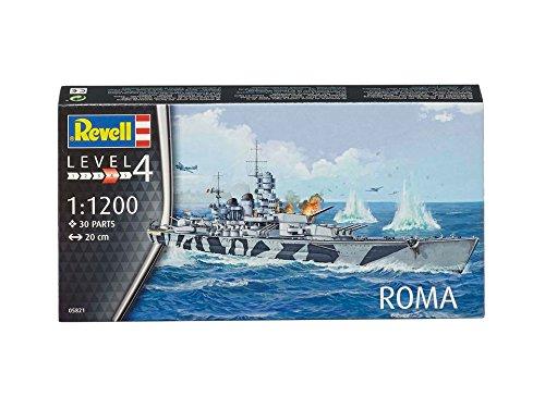 ドイツレベル 1/1200 イタリア海軍 戦艦ローマ プラモデル 05821