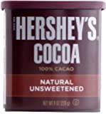 Hershey's Natural Unsweetened Cocoa, 8-Ounces