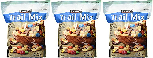 Signature Trail Mix, Peanuts, M and M Candies, Raisins, Almonds and Cashews, 4 Pound (3 ()