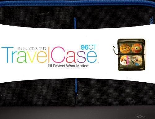 Memorex CD/DVD Travel Wallet Case - 96-count