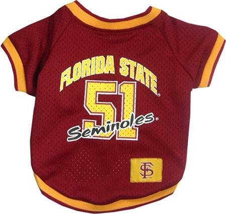 picture of Pets First FSUJ-S Florida State Seminoles Jersey Small