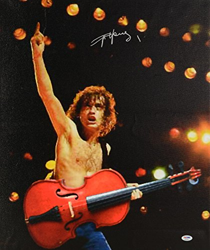 - Angus Young Autographed 20