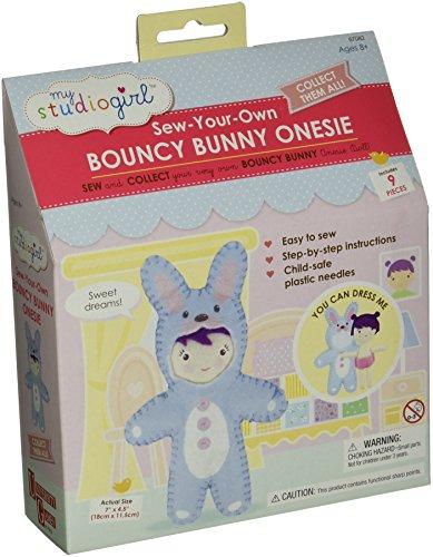 My Studio Girl Onesies - Bouncy Bunny (Girls Magic Hat Bunny Costume)