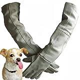 RONSHIN Anti-biting Gloves Cowhide Thicker Reptile Pet Bite-proof Cat Lizard Anti-scratch Gloves