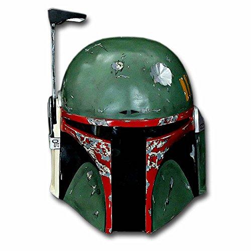 Custom Wearable Halloween Costume Cosplay Movie Prop Mask DJ Gift Star Wars Boba Fett Helmet MA204 -