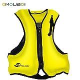 Best Adult Snorkeling Vests - Life Jacket Adult Inflatable Swim Vest for Snorkeling Review