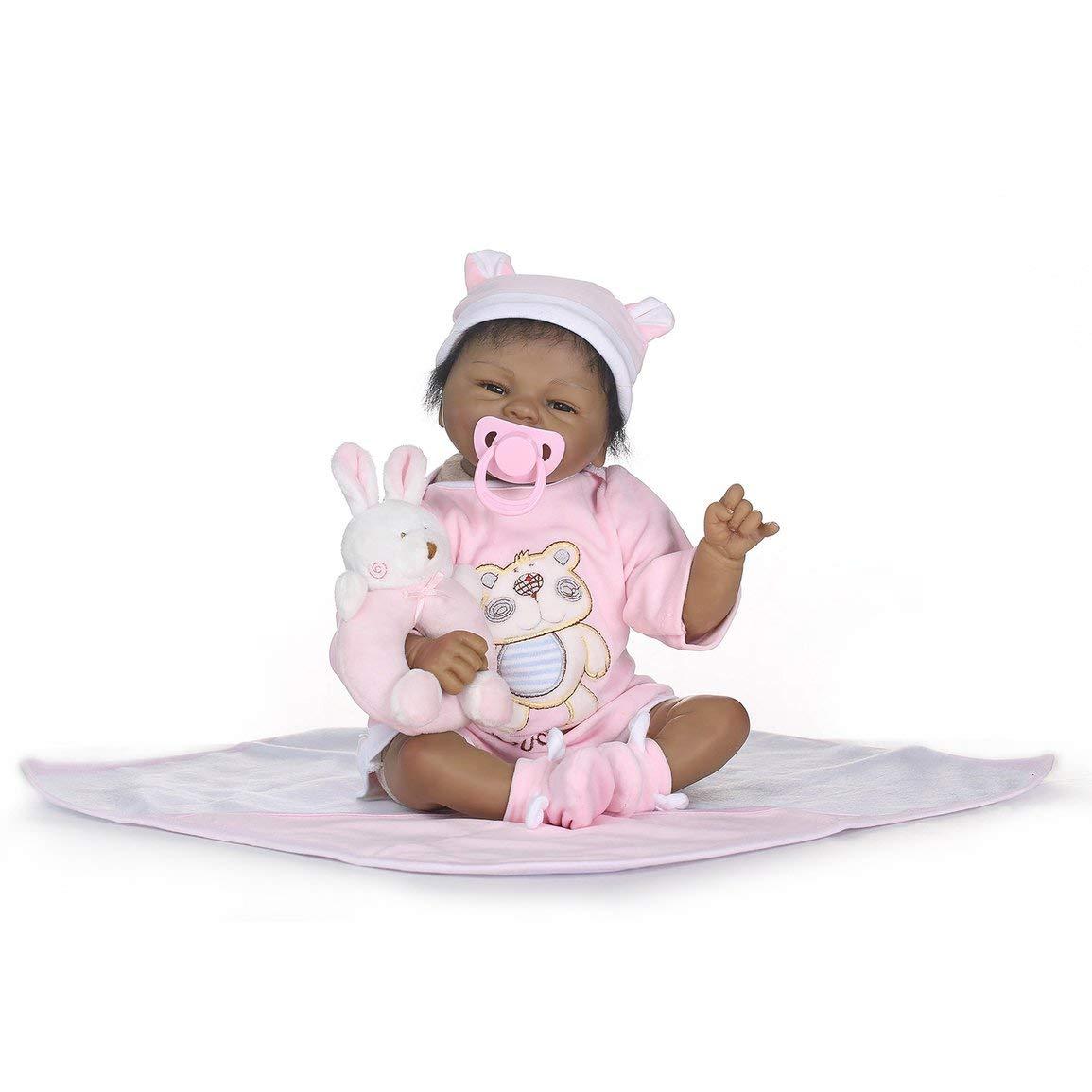 Fantasyworld NPK Simulación bebé 40cm de Silicona Suave muñeca de Juguete muñeca Realista Lindo recién Nacido