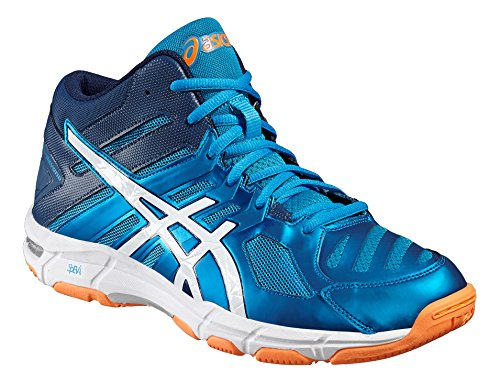 Asics Gel Beyond 5 mt blue-white- Orange Nr. 39