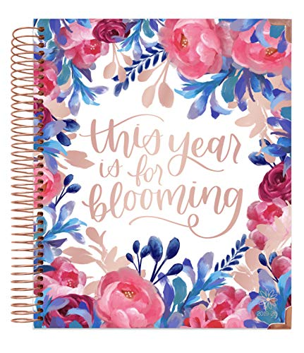 HARDCOVER bloom daily planners 2019-2020 Academic Year Vision Planner (August 2019 - July 2020) - Monthly & Weekly Column View Calendar Organizer - 7.5