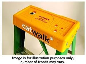 Youngman 527434de fibra de vidrio Catwalk 4escalera S200luz Trade peldaños