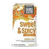 Good Earth Herbal Tea, Sweet & Spicy, Caffeine Free, 18 Count Tea Bags (Pack of 6)