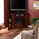 Holly & Martin Ponoma Convertible Media Electric Fireplace, CHERRY