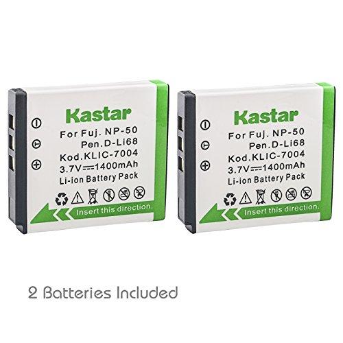 r Fujifilm NP-50 BC-50 BC-45W Fuji FinePix F50FD F60FD F70EXR F80EXR F100FD F200EXR F300EXR F500EXR F600EXR F770EXR F800EXR F900EXR REAL 3D X20 XF1 XP100 XP150 XP160 XP170 XP200 (Np50 Replacement Battery)