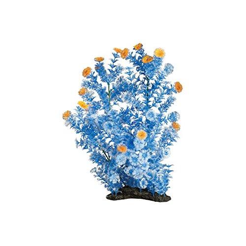 Elive Topaz Blue Cabomba-Extra Large 16-18'' Aquarium Décor Plastic Plants by Elive