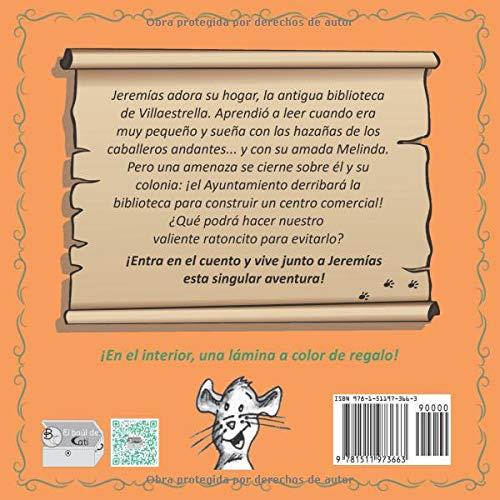 Jeremías, el ratón de biblioteca (Spanish Edition): Catalina Gómez Parrado, Silvia Jorge Sarrió: 9781511973663: Amazon.com: Books