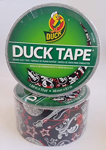 - Duck Brand Printed Duct Tape, Music, 1.88 Inches x 10 Yards, Single Roll
