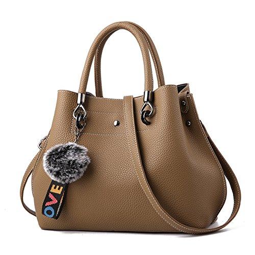 La Bolsa De Asas De Las Mujeres Italian Designer Fashion Ladies Handbags Elegante Bolso De Hombro De Cuero De La PU Casual Negro Azul Darkyellow