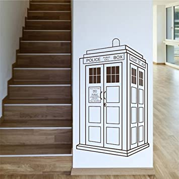 Superieur Ik2248 Wall Decal Sticker Time Machine Spaceship Tardis Doctor Who Living  Childrenu0027s Bedroom