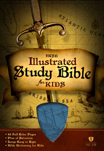 Kids Illustrated Letter (HCSB Illustrated Study Bible for Kids, Blue LeatherTouch)