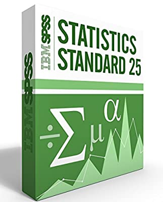 IBM SPSS Statistics Grad Pack Standard V25.0 6 Month License for 2 Computers Windows or Mac