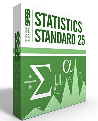 IBM SPSS Statistics Grad Pack Standard V25.0 6 Month License for 2 Computers Windows or Mac by IBM