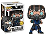 Funko Pop! Games: Mortal Kombat - Sub-Zero CHASE Limited Edition Vinyl Figure (Bundled with Pop BOX PROTECTOR CASE)