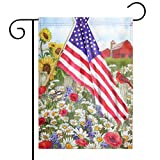 Spring Garden Flag Season Flag Welcome Flag,Indoor and Outdoor Flags,Double-Sided (American,Flower) Review