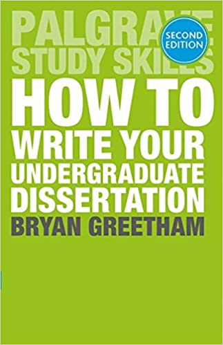 how to write a dissertations